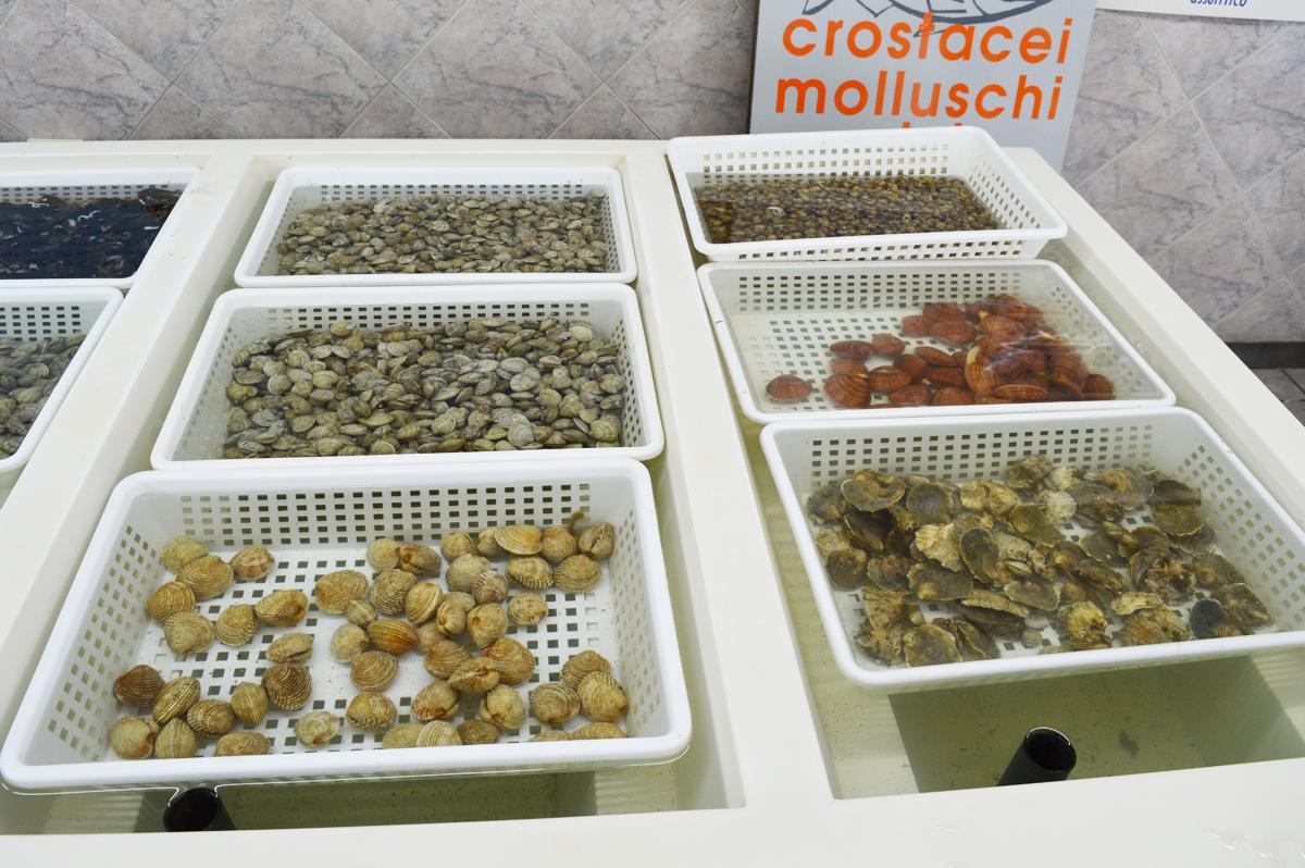 Molluschi depurati ad ozono